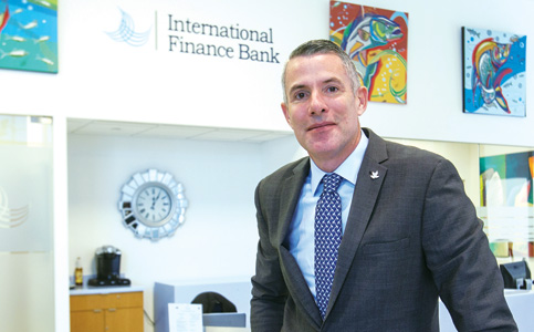 Jose Cueto: CEO expanding International Finance Bank's footprint