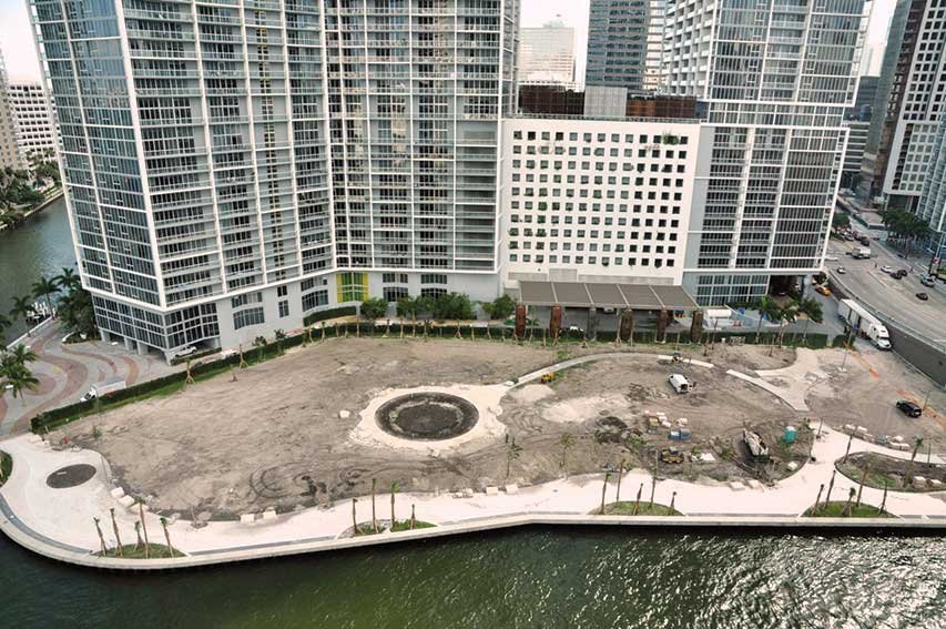 'Great and exciting improvements' due at Miami Circle