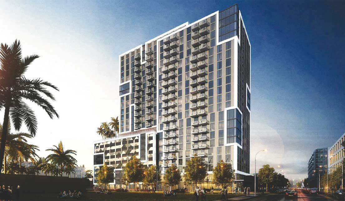 20-story residential tower to be build in shadow of Metrorail