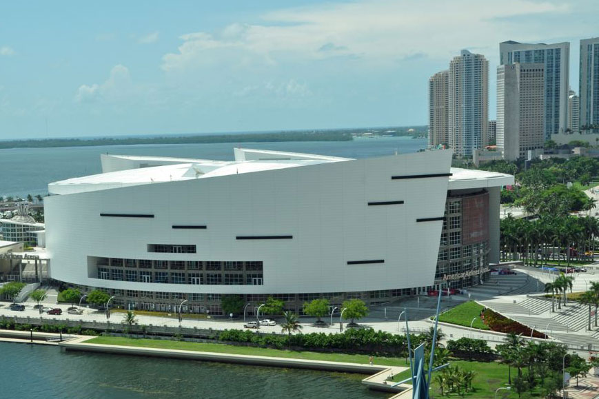 Full-court press on AmericanAirlines Arena naming rights