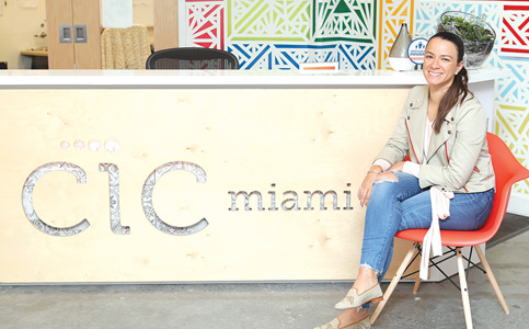 Natalia Martinez-Kalinina: Runs CIC innovation center with aim to be economic hub