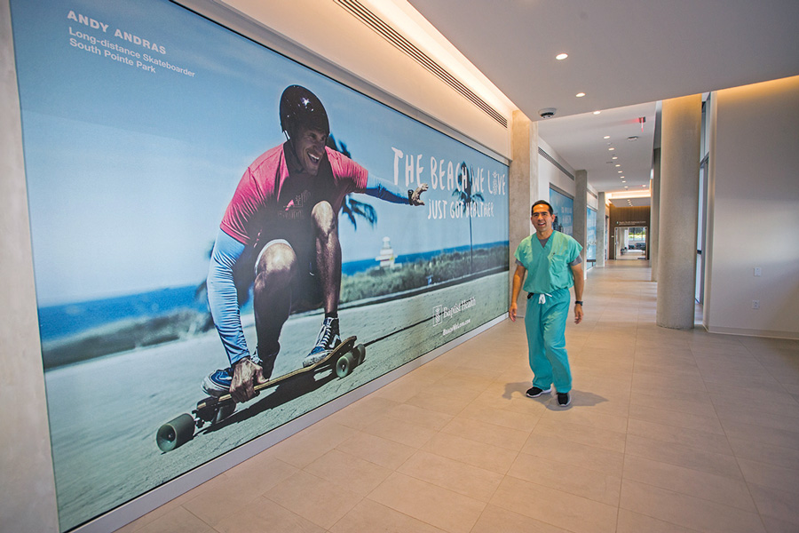 Baptist Health's Miami Beach center a community hub