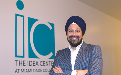 Romi Bhatia: Builds Idea Center to help MDC students start ventures