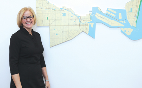 Eileen Higgins: Brings her business experience to the county commission