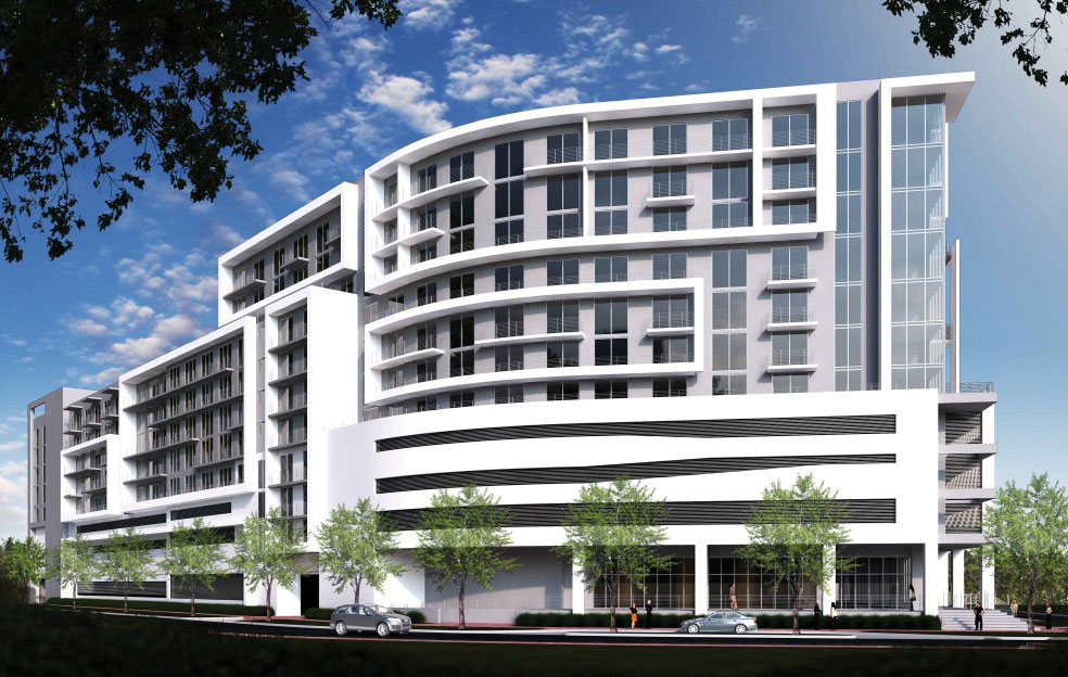 250 apartments planned at edge of Health District in Miami