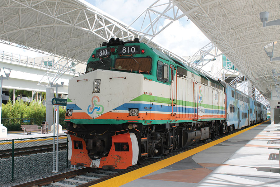 Tri-Rail is on track to serve downtown Miami