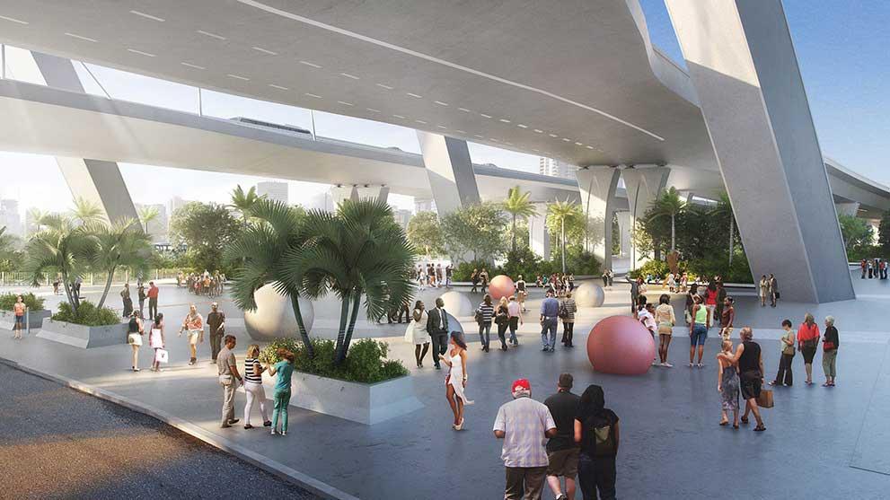 Miami OKs deal for lighted park under I-395