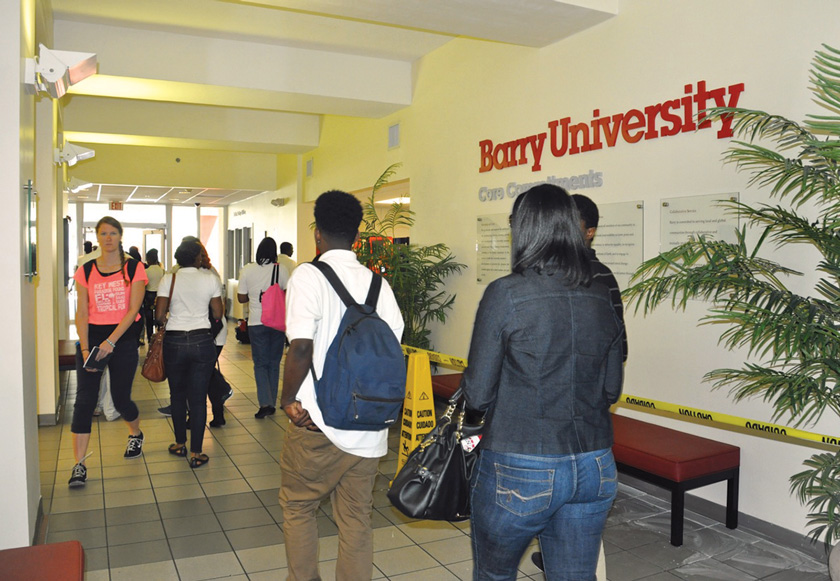 New Barry University president seeks to boost enrollment