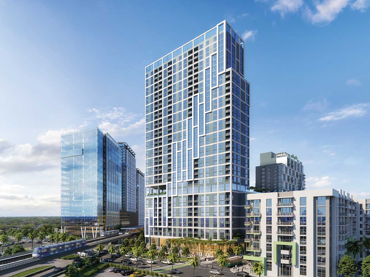 Coral Gables seeks downsizing of five towers in Miami
