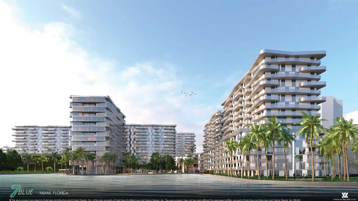 Six-tower Blue Lagoon growth to add 888 apartments
