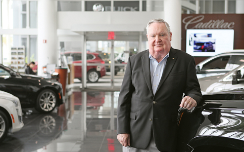 Ed Williamson: Steering team at US's No. 4 volume Cadillac dealership