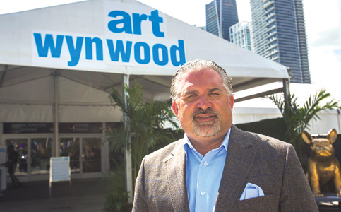 Nick Korniloff: Preparing for 30th anniversary Art Miami presentation