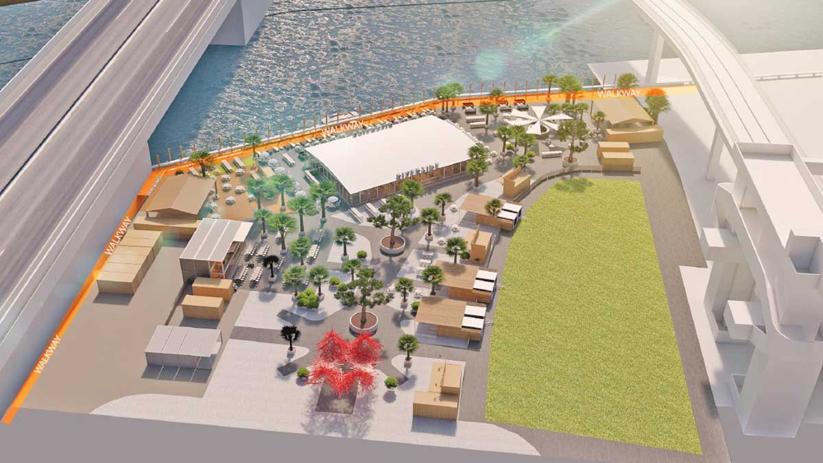 Brickell Open Air Riverfront Site To Offer 7 Restaurants