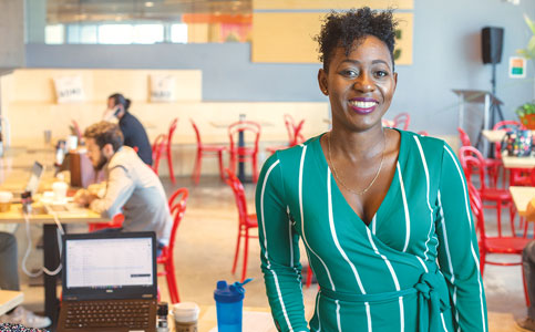 Leigh-Ann Buchanan: Executive director of linkage site Venture Café Miami