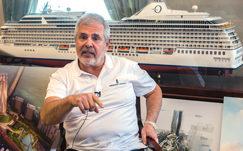 Russell Galbut: Guiding Crescent Heights, chairing Norwegian Cruises