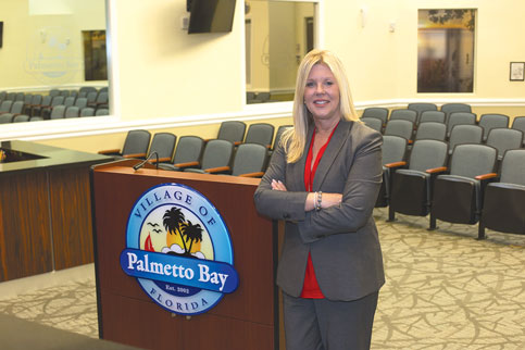 Karyn Cunningham Palmetto Bay mayor seeks creation of vibrant downtown