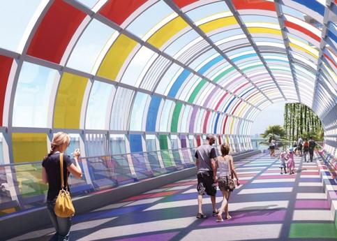 Miami Beach Canopy to mark city's entrance