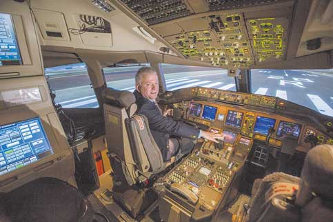 Flight training center plans major investment