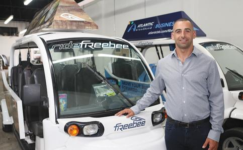 Jason Spiegel: Driving Freebee local transit into many communities