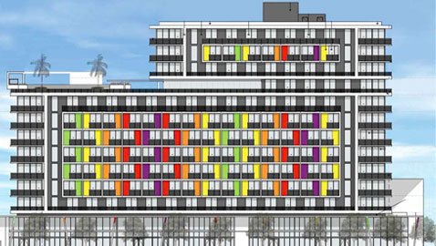 Board gives thumbs-up to colorful Allapattah project