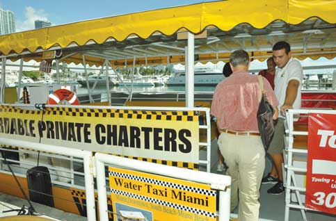 Miami-Dade, cities target docks for waterborne transit