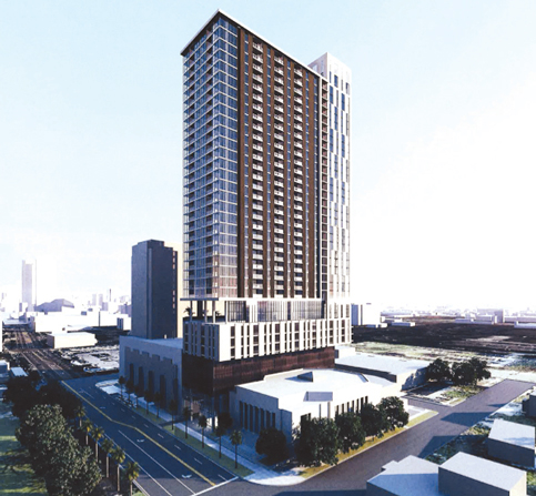 Repurposing historic church adds 40-story Biscayne Boulevard tower