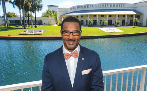 Jaffus Hardrick: Aims to triple enrollment of Florida Memorial University