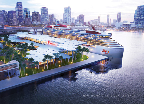 Boarding time for architectural firms at PortMiami