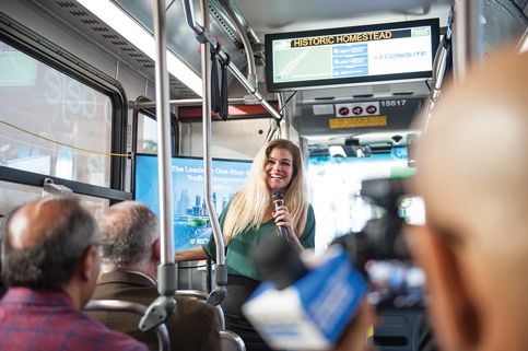 South Dade Transitway rapid bus service rolls ahead