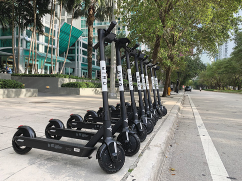 Miami's scooter pilot program walks a tightrope