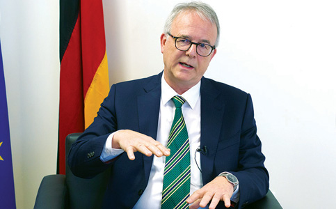 Andreas Siegel: Consul general seeks broader knowledge of Germany