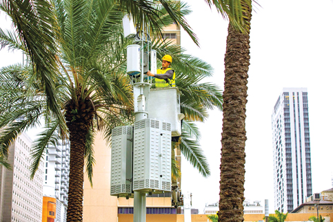 5G, touted at Super bowl, gaining ground in Miami-Dade