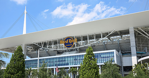 Hard Rock Stadium faces cap on county funding