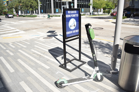 Some downtown don't welcome scooter rental craze