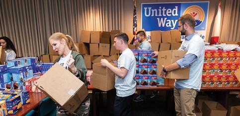 United Way emergency response fund passes $2.1 million