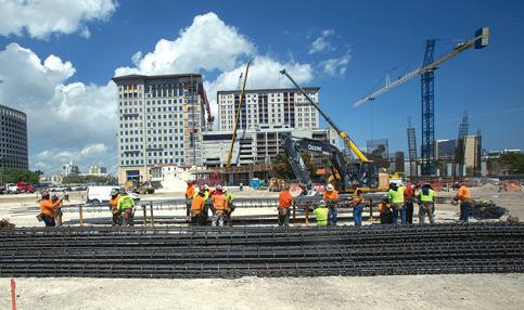 Vast Plaza Coral Gables rising in segments