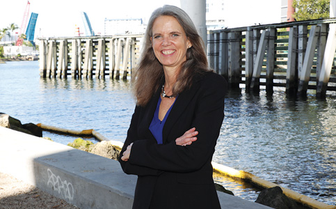 Jane Gilbert: Resilience director enacts Miami's climate ready plan