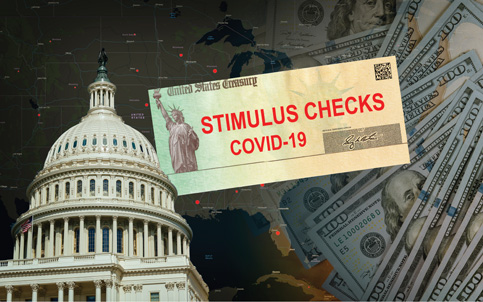 Handling flood of federal stimulus checks won't tax bankers