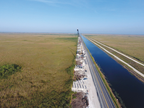 Bids sought to raise Tamiami Trail, restore Everglades