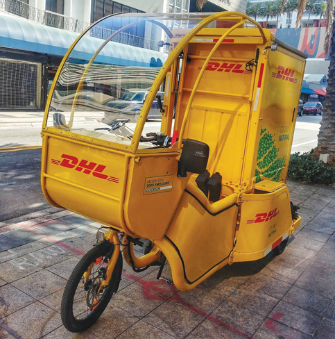 Pilot program for e-cargo bicycles wheels toward Miami