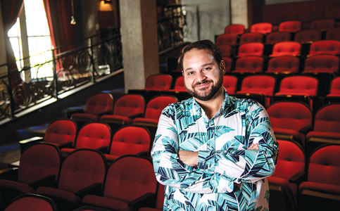 Kareem Tabsch: Documentary filmmaker co-directing Beach's O Cinema