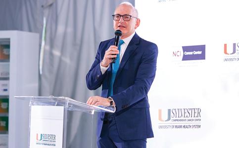 Stephen Nimer: Leads Sylvester Comprehensive Cancer Center to key title