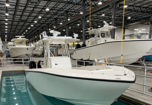 SeaVee Boats build new factory at right