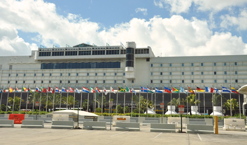 New Miami International Airport hotel on the runway