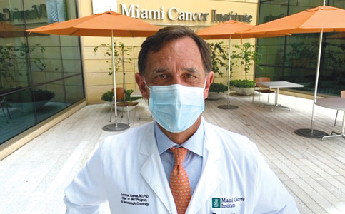 Dr. Guenther Koehne: Linking Miami Cancer Institute clinicians to FIU research