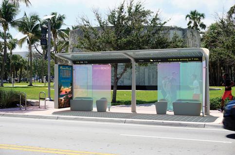 Classy Miami Beach designer bus stops get no operator bids