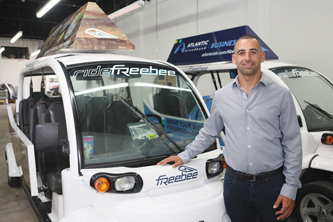 Freebee downtown service launch back on track for October