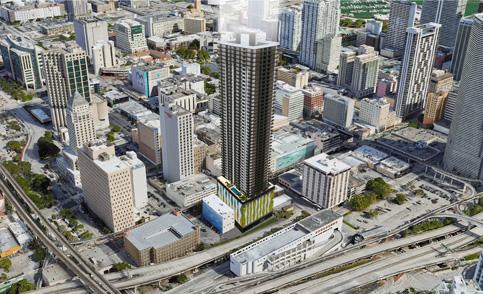 Miami board again votes against a downtown Melo skyscraper