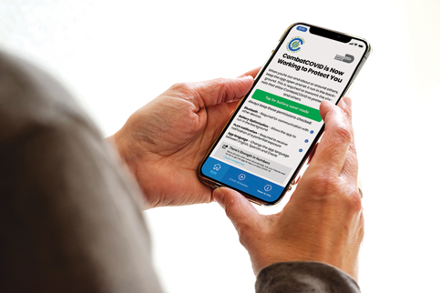 Fewer than 1% download Covid contact tracing app