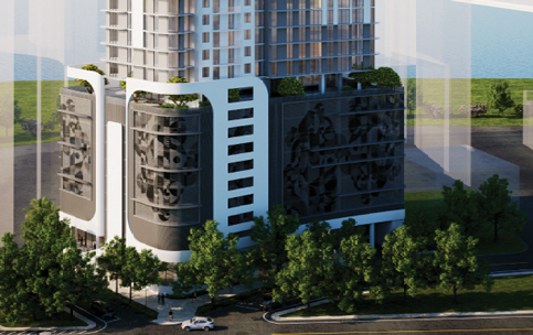 36-story Edgewater tower wins city board's backing
